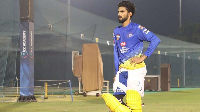 Ruturaj Gaikwad played for the Chennai Super Kings during IPL 2020