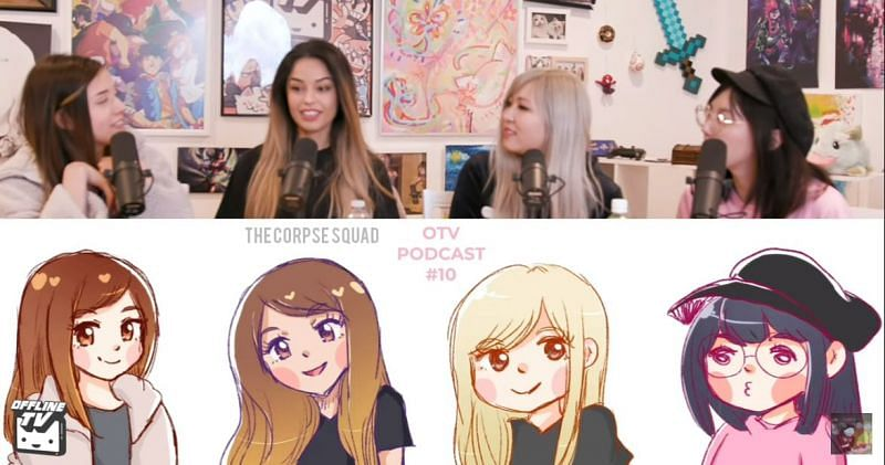 Pokimane and Valkyrae talked about their sexuality on an OTV podcast
