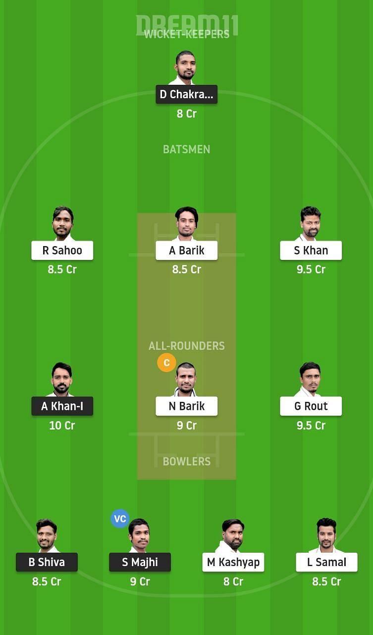 Odisha Cricket League Dream11 Tips