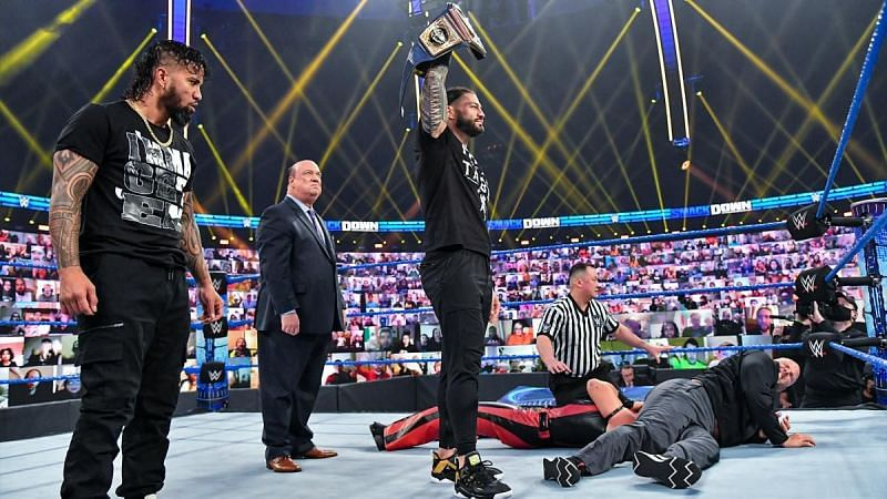 Roman Reigns was at the top of his game on this week