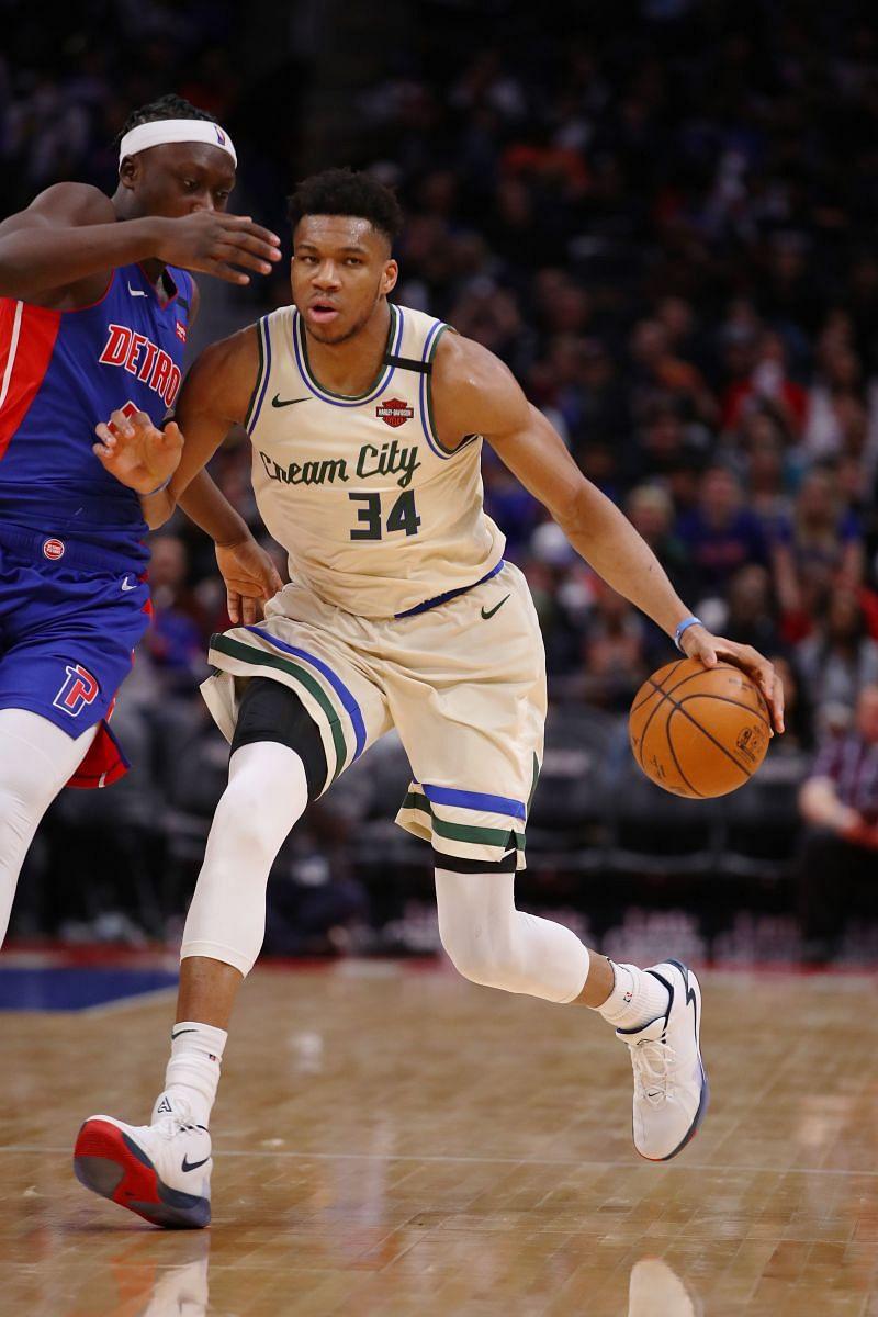 Milwaukee Bucks vs Detroit Pistons