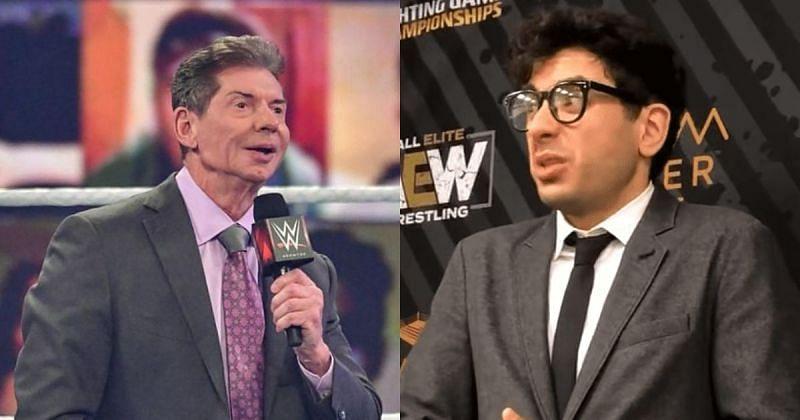 Vince McMahon and Tony Khan.