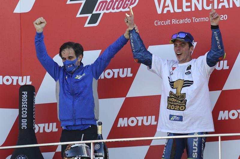 Davide Brivio took the Suzuki team to World Championship in 2020
