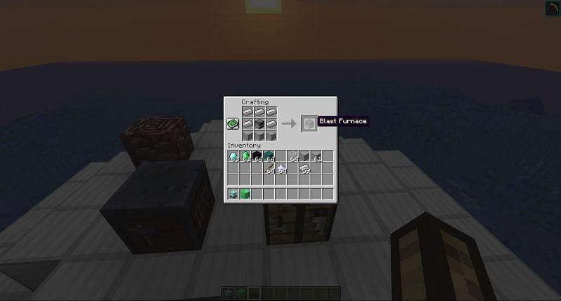 Hochofen in Minecraft