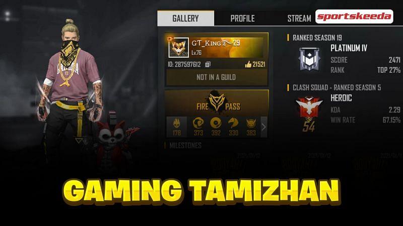 Gaming Tamizhan (GT King)
