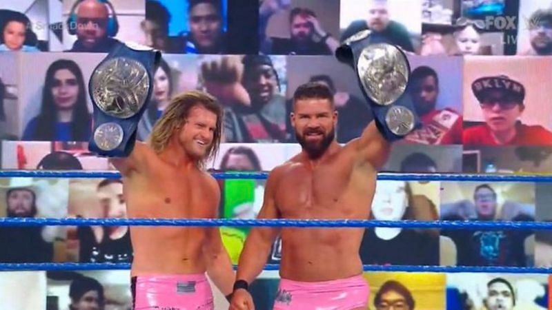 Dolph Ziggler & Robert Roode are the new SmackDown Tag Team Champions