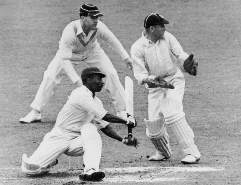 The match at Barbados marked the debut of George Headley, West Indies