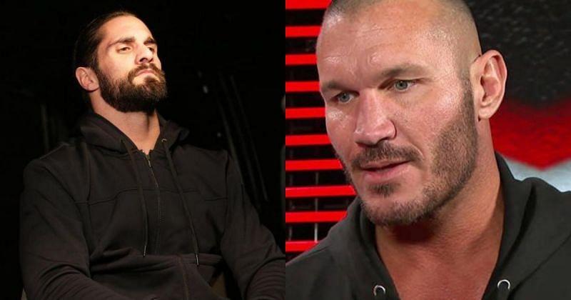 Seth Rollins and Randy Orton.