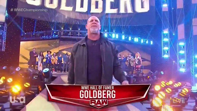 Goldberg made his shocking return on RAW