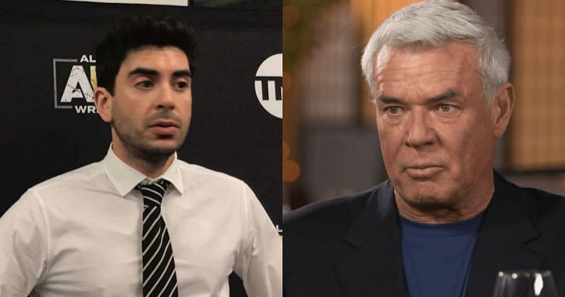 Tony Khan and Eric Bischoff.