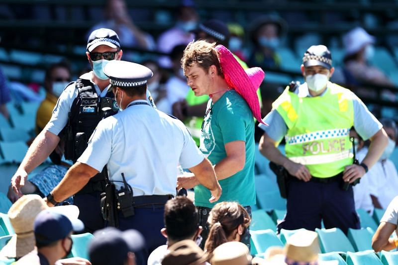 Six spectators who allegedly hurled racist abuses at Mohammed Siraj are in the custody of the New South Wales police.