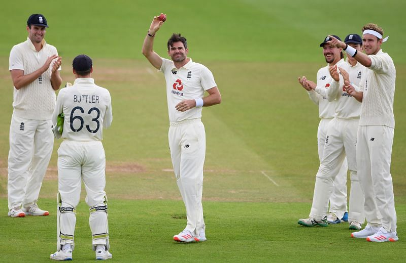 James Anderson is the fourth highest wicket-taker in Test cricket