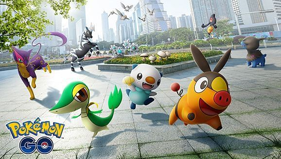 With Ferroseed being part of the Unova Collection Event, Niantic increased its spawn rate in the wild in Pokemon GO (Image via Niantic)