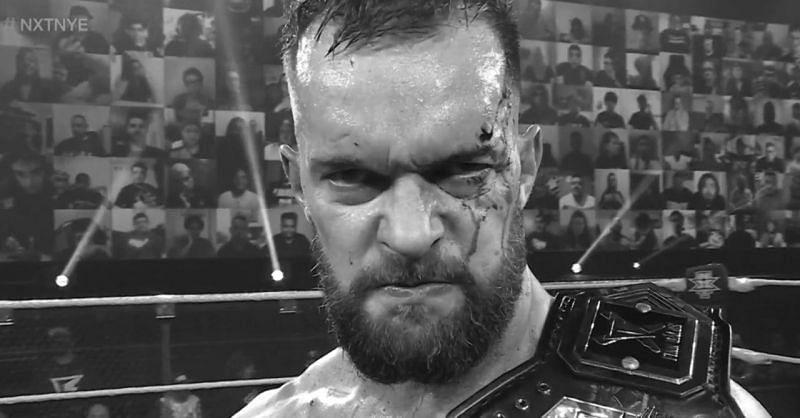 Finn Balor at NXT New Year