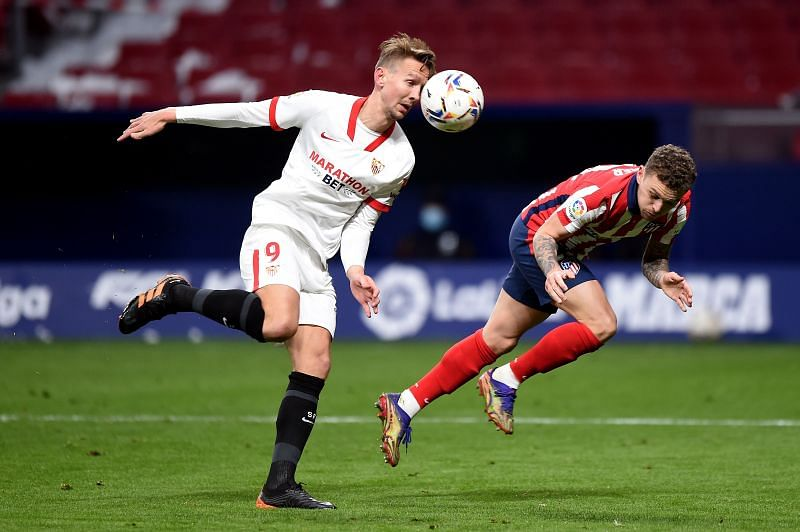 Luuk de Jong has been in great form for Sevilla recently