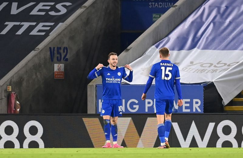 James Maddison scored for Leicester against Chelsea last week