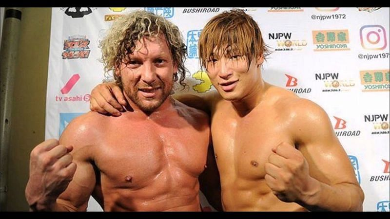 Kenny Omega and Kota Ibushi in NJPW