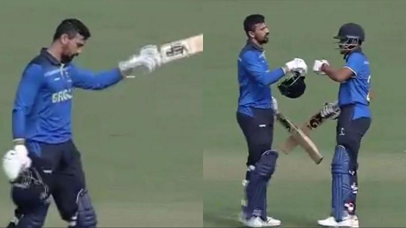 Vivek Singh registered his maiden T20 hundred against Jharkhand in Syed Mushtaq Ali Trophy 2021