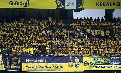 Kerala Blasters have a famously vocal fanbase in Kochi.