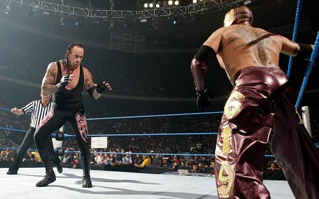 The Undertaker and Rey Mysterio