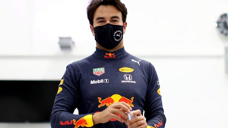 Sergio Perez has started work at his new team Red Bull