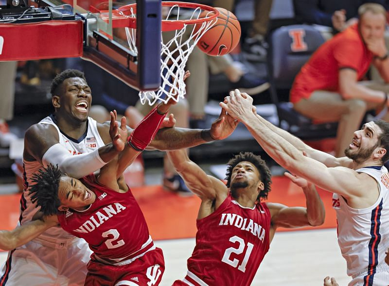Indiana improved to 9-6 on the season with the upset win