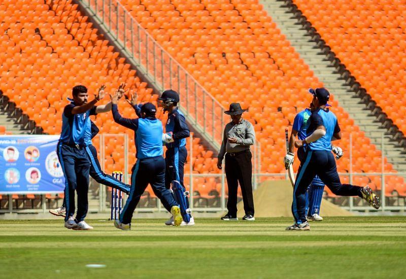 Baroda will face Punjab in the semi-finals