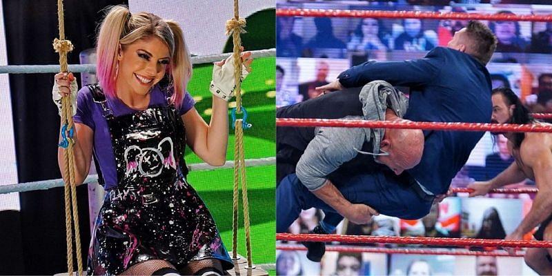 Raw, वीडियो हाइलाइट्स