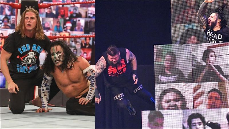 Are Jeff Hardy and Kevin Owens getting their dues paid?