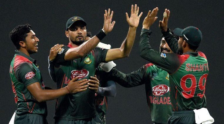 बांग्लादेश टीम