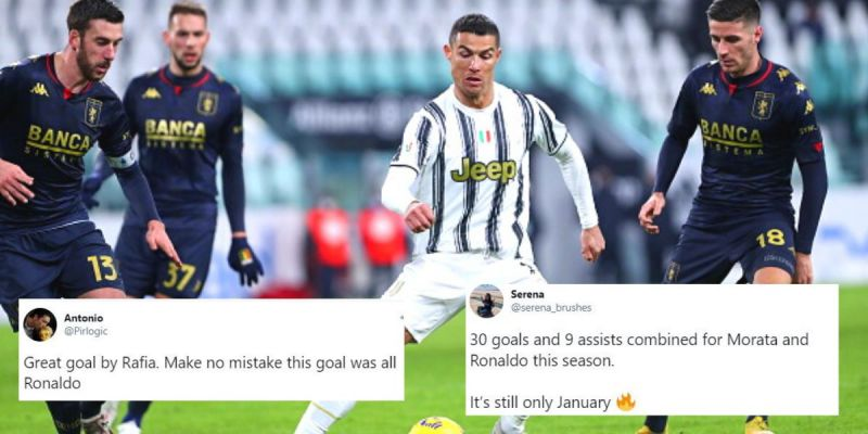 Juventus secured a hard-fought 3-2 win against Genoa