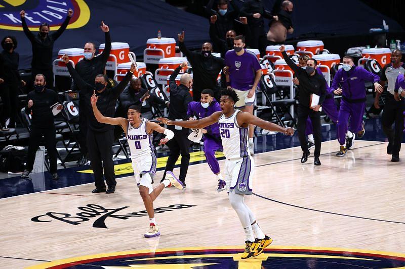 Sacramento Kings v Denver Nuggets.