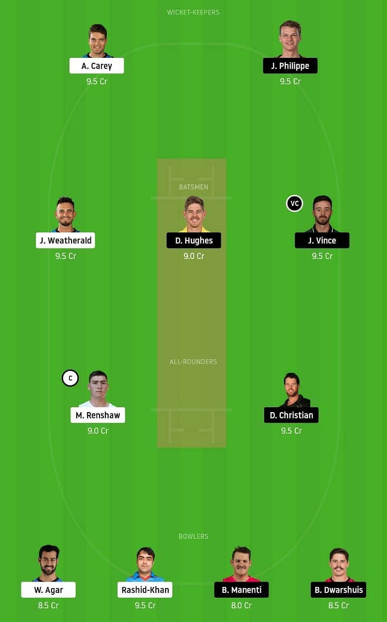 STR vs SIX Dream11 Tips