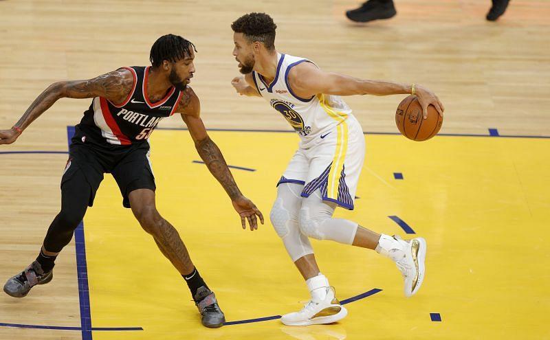 Portland Trail Blazers v Golden State Warriors.