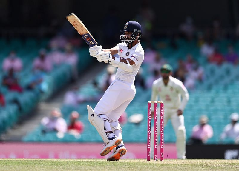 Ajinkya Rahane scored 22 runs off 70 deliveries.