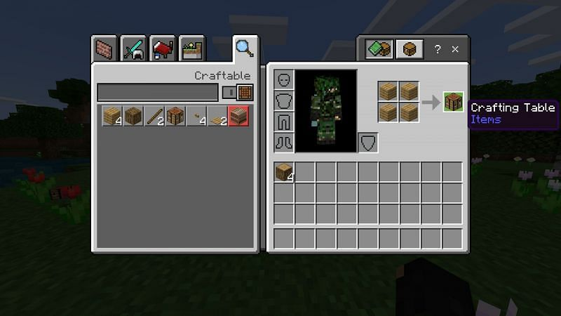 Step 2 for making charcoal in minecraft