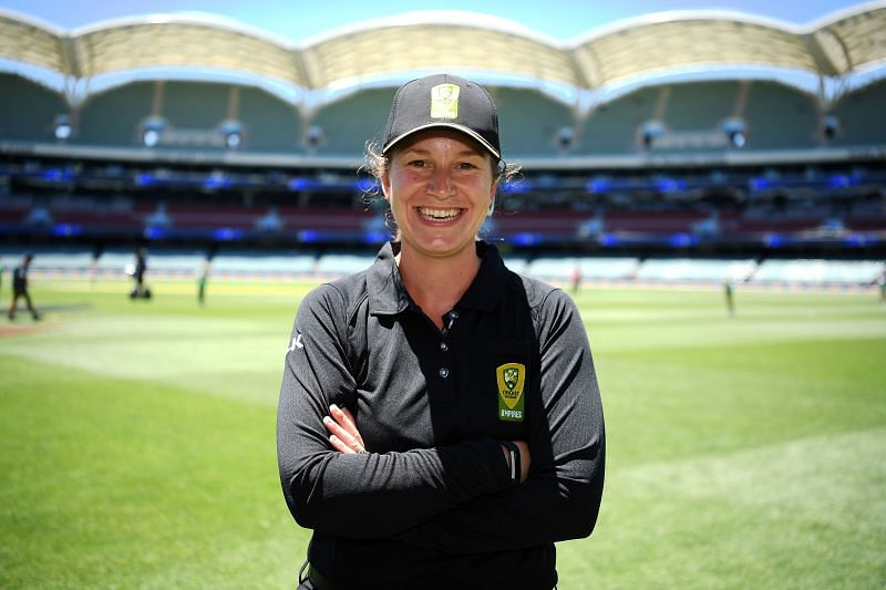 Claire Polosak is set to become the first female match official in a men