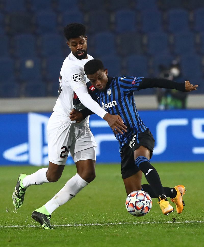 Amad Diallo in action for Atalanta