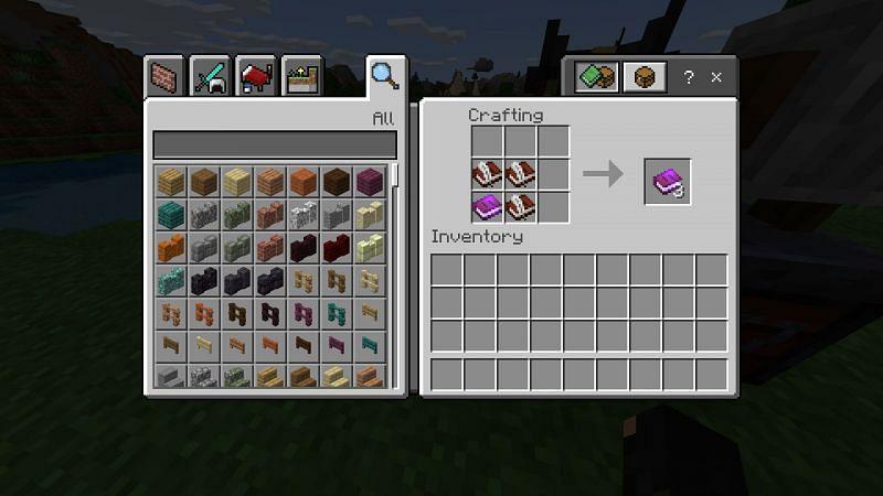 Crafting a duplicate of a book in Minecraft