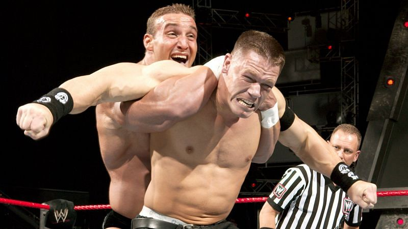 Chris Masters and John Cena