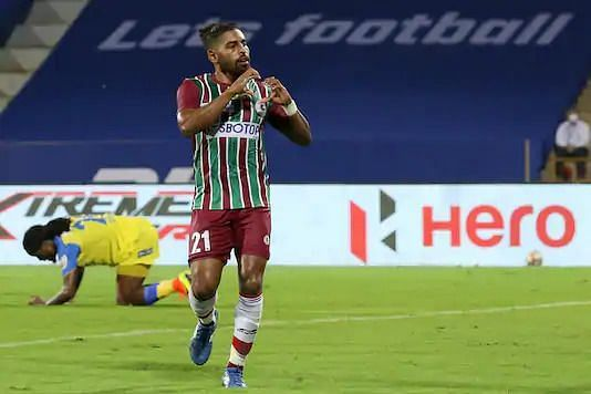 Roy Krishna is the highest goal-scorer for ATK Mohun Bagan FC (Image: ISL)