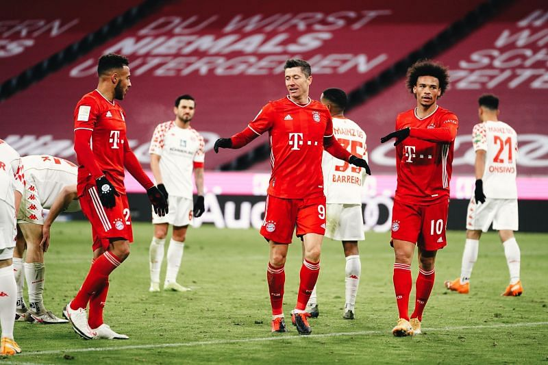Bayern Munich scored five times in the second half to secure a massive win in their first Bundesliga game of the year.