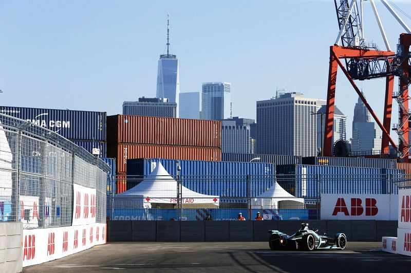 Enter caption ABB FIA Formula E Championship 2019 - New York E-Prix Round 12