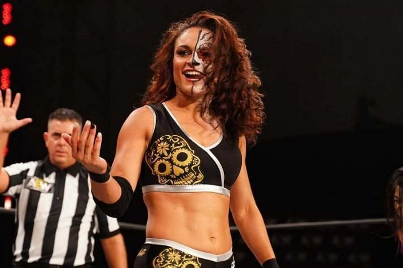 Thunder Rosa was originally scheduled to face Britt Baker at AEW New Year