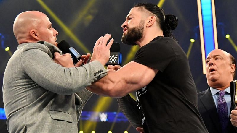 Roman Reigns may not face Adam Peace later this month