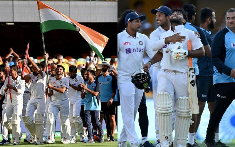 भारतीय टीम की ऐतिहासिक जीत