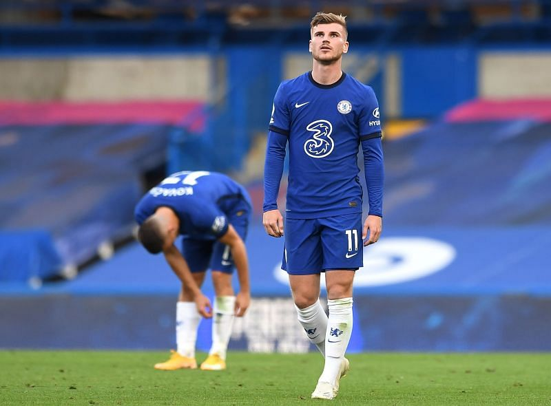 Werner is now without a goal in nine Premier League games.s