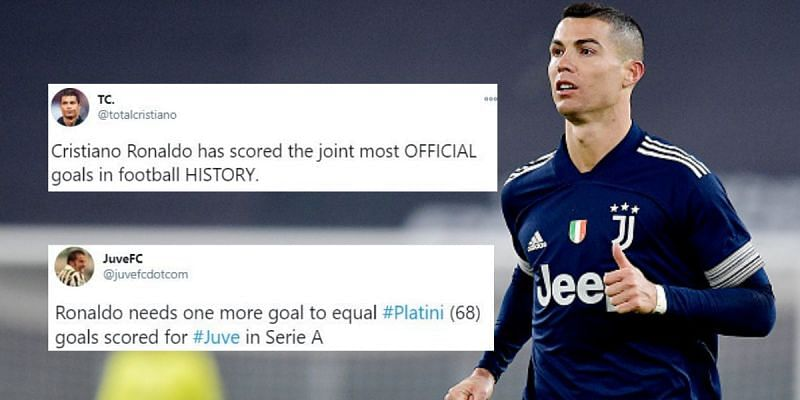 Cristiano Ronaldo once again got his name on the score sheet for Juventus