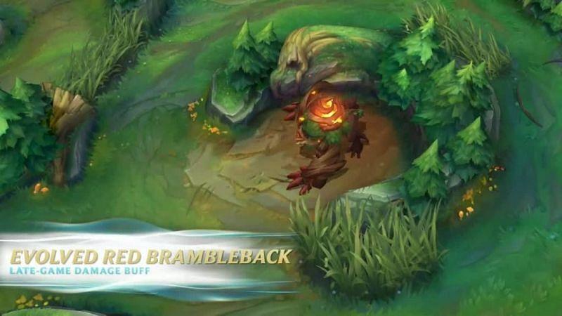 Wild Rift Red Brambleback (Image via Riot Games)