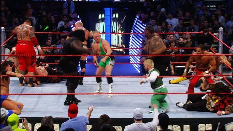 Royal Rumble 2008 को याद करने के काफी